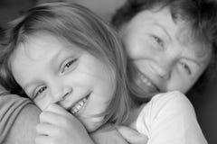 Grandmother and grandchild Royalty Free Stock Photos