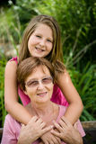 Grandmother with grandchild Stock Photography
