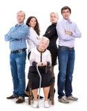 Grandmother with grandchildren Stock Photo