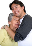 Grandmother with grandson Royalty Free Stock Photos