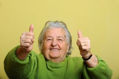 Grandmother Stock Photography