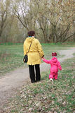 Grandmother with her beloved granddaughter Royalty Free Stock Photos