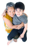 Grandmother with her grandchild Stock Photo