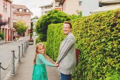 Grandmother and little girl Royalty Free Stock Photo