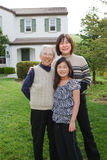 Grandmother, Mother, Daughter Stock Photography