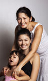 Grandmother, mother and daughter Stock Images