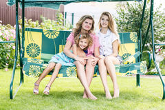 Grandmother ,mother and daughter Royalty Free Stock Photography