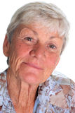 Grandmother portrait Stock Image