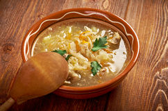 Grandmother's Sauerkraut soup Royalty Free Stock Images