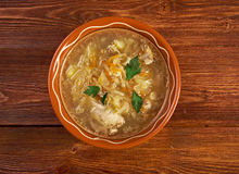 Grandmother's Sauerkraut soup Royalty Free Stock Image