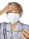 Grandmother Thermometer1 Stock Photo