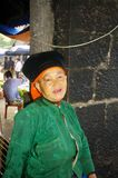 Grandmother White Hmong Royalty Free Stock Image