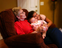Grandmotherly Love Stock Photography