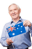 Grandpa from Australia. Royalty Free Stock Images