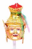 Grandpa de la máscara del agente tailandés - oro dirigido. foto de archivo