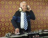 Grandpa dj Stock Image