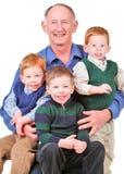Grandpa feliz Fotografia de Stock Royalty Free
