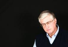 Grandpa with glasses Stock Photo