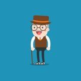 grandpa Persona dell'uomo anziano Fotografia Stock