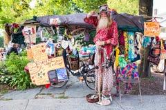 Grandpa Woodstock NY Royalty Free Stock Photos