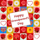 Grandparent's Day card Stock Images