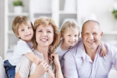 Grandparent With Grandchild Royalty Free Stock Images