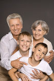 grandparents счастливые Стоковая Фотография RF