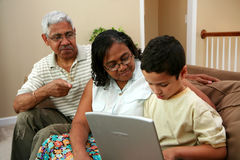 Grandparents Imagem de Stock