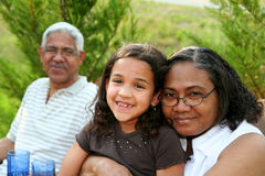 Grandparents Royalty Free Stock Photo