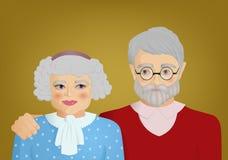 grandparents Στοκ εικόνες με δικαίωμα ελεύθερης χρήσης