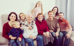 Free Grandparents 60-70 Years Old With Children Are Photographing Bes Stock Photo - 89221230