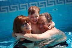 Free Grandparents And Grandchild Stock Photos - 6891303