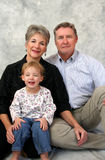 Grandparents and Child Royalty Free Stock Photography