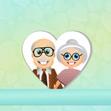 Grandparents Day Stock Image