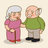 Grandparents design. Royalty Free Stock Photos
