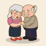 Grandparents design. Stock Photos