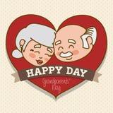 Grandparents design. Stock Photo