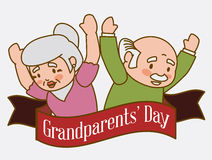 Grandparents design. Stock Photography