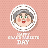 Grandparents design, people vector Stock Photo