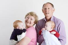 Grandparents felizes foto de stock royalty free