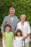 Grandparents with their children Royalty Free Stock Photos