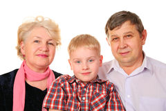 Free Grandparents With Grandchild Royalty Free Stock Photos - 2309008