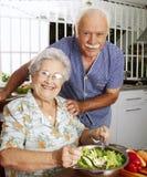 Grandparet kitchen. Royalty Free Stock Images
