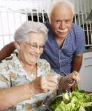 Grandparet kitchen. Royalty Free Stock Photo