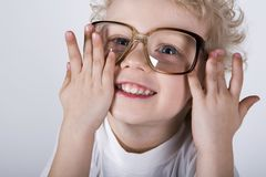 Grandpa's glasses Royalty Free Stock Photos