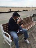 Grandpop e nipote Immagini Stock