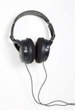 Grands écouteurs Photographie stock