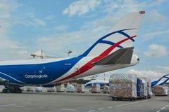 Grands aéronefs de cargaison Image stock