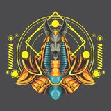 Grands anubis illustration libre de droits