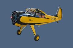 Grands avions modèles d'échelle de PZL-Okecie 101A Gawron démontés Photo libre de droits